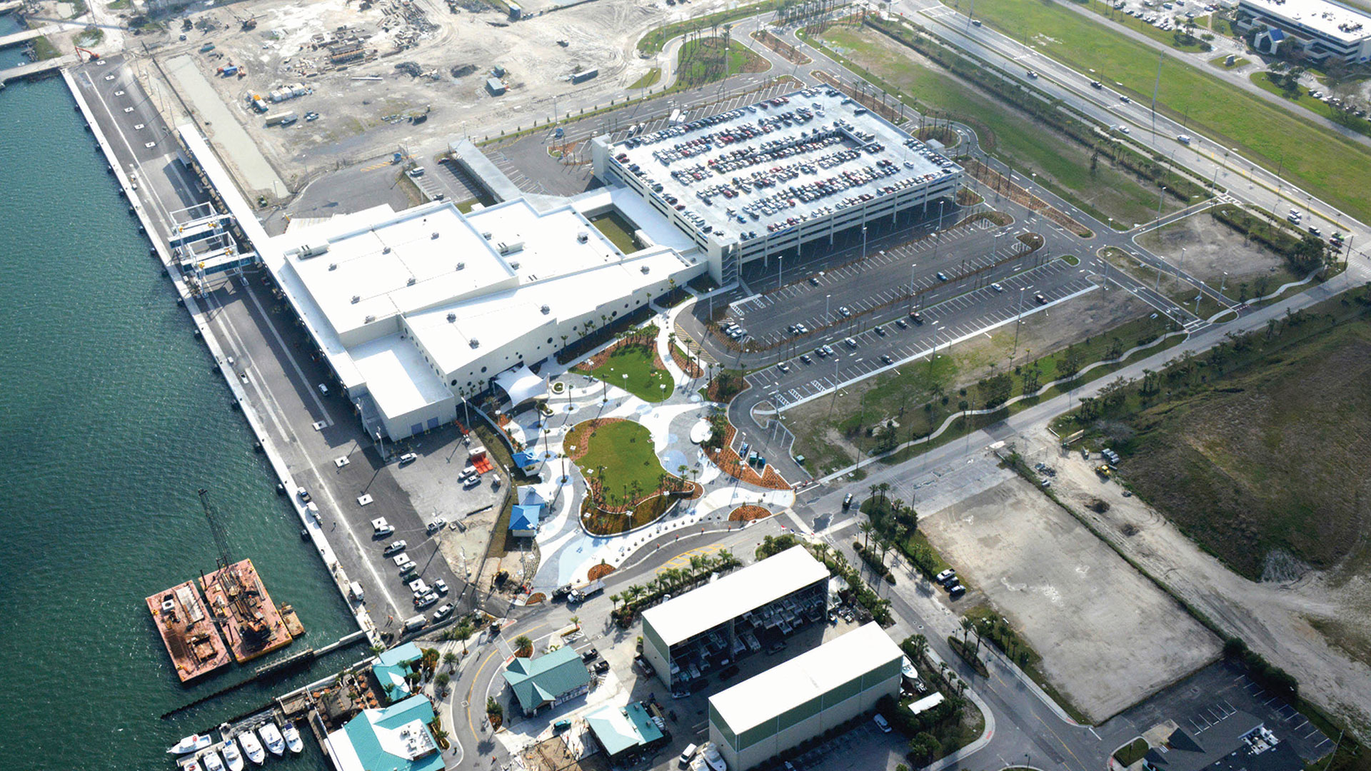 Port Canaveral Cruise Terminal No 1 Parking Garage BEA Architects