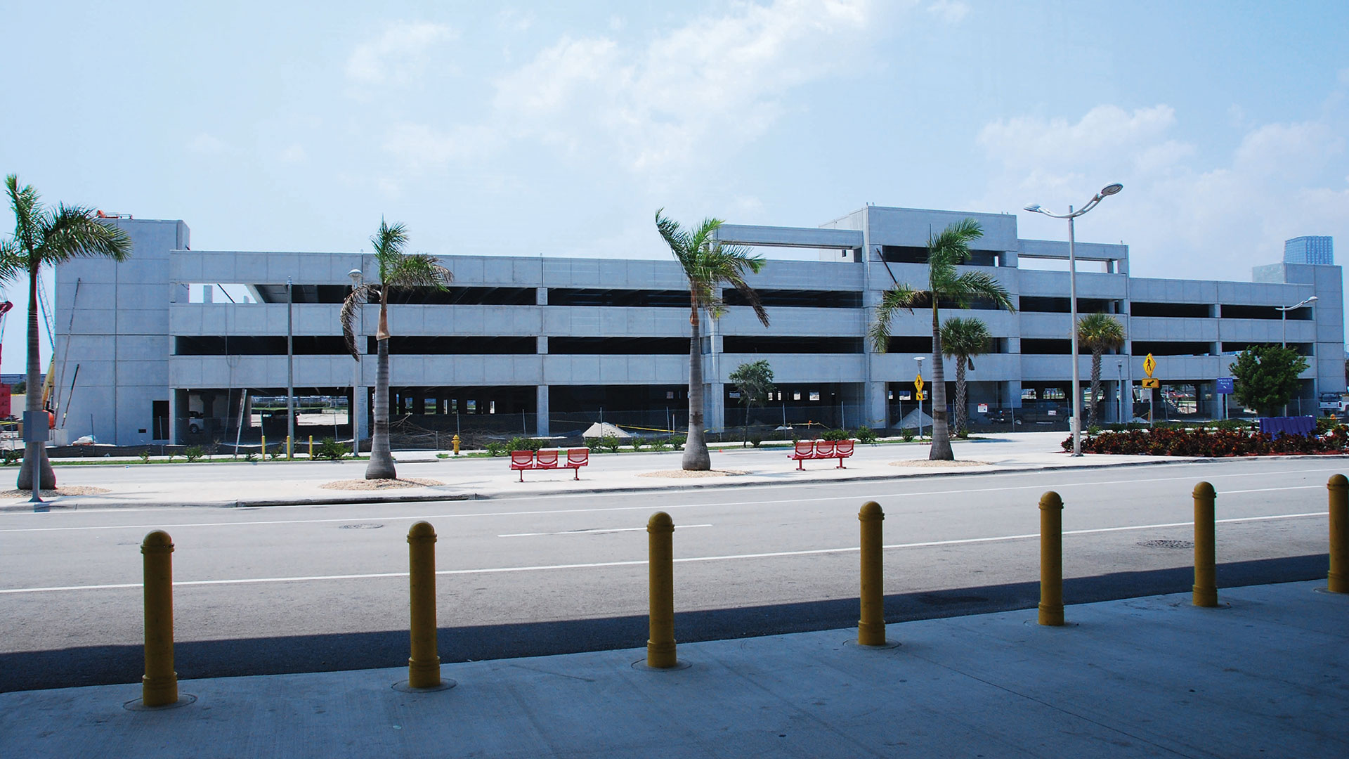 Port Of Miami Terminal D Parking Garage Bea Architects